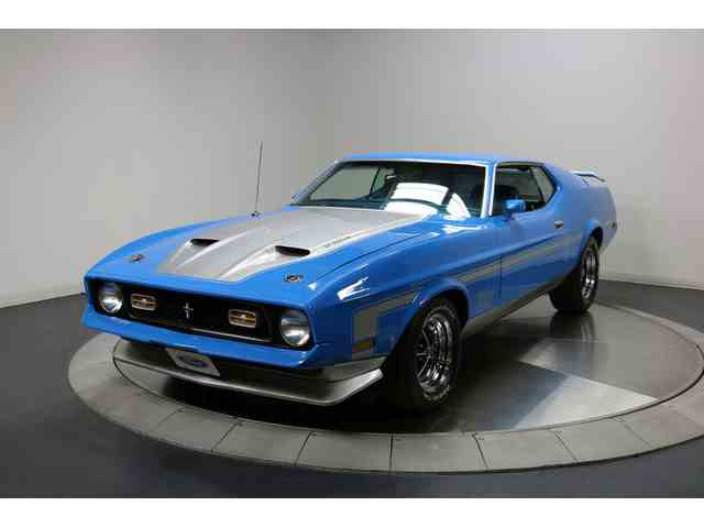 1971 Ford Mustang   984415