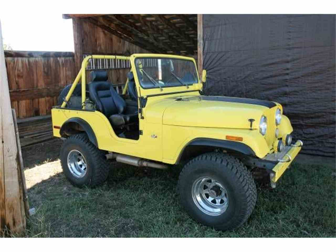 1972 Jeep CJ5 for Sale ClassicCars