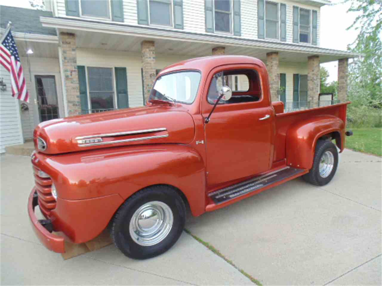 1950 ford f1 pickup for sale cc 984461. Black Bedroom Furniture Sets. Home Design Ideas