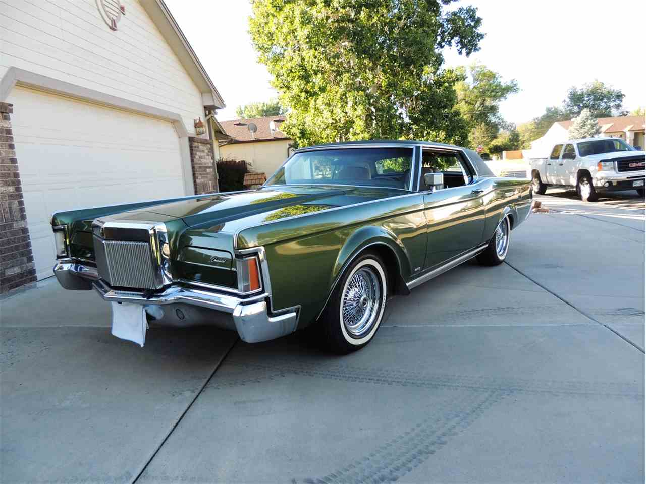 1971 lincoln continental mark iii for sale classiccars. Black Bedroom Furniture Sets. Home Design Ideas