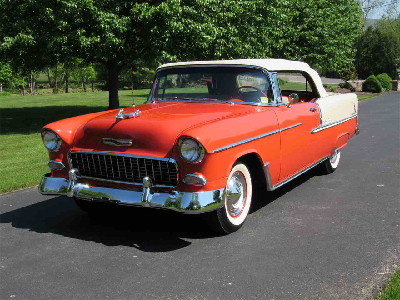 Bel Air Auto Auction >> 1955 Chevrolet Bel Air for Sale | ClassicCars.com | CC-984696