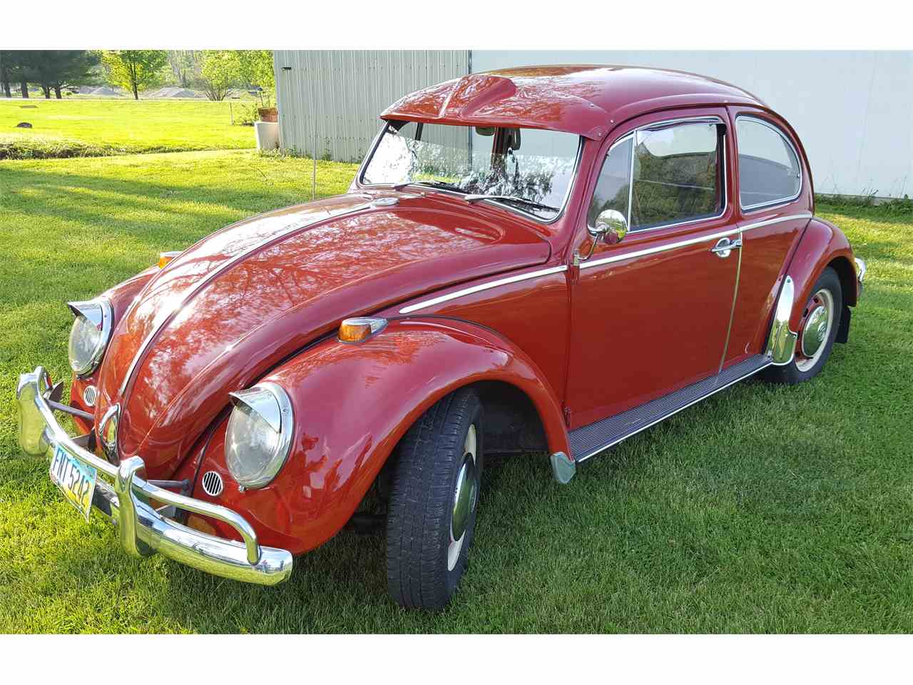 1966 volkswagen beetle for sale cc 980470. Black Bedroom Furniture Sets. Home Design Ideas