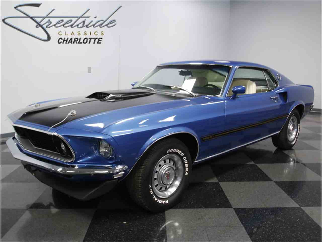 1969 ford mustang mach 1 for sale cc 984908. Black Bedroom Furniture Sets. Home Design Ideas