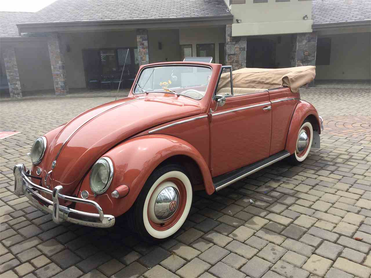1956 volkswagen beetle for sale cc 985038. Black Bedroom Furniture Sets. Home Design Ideas
