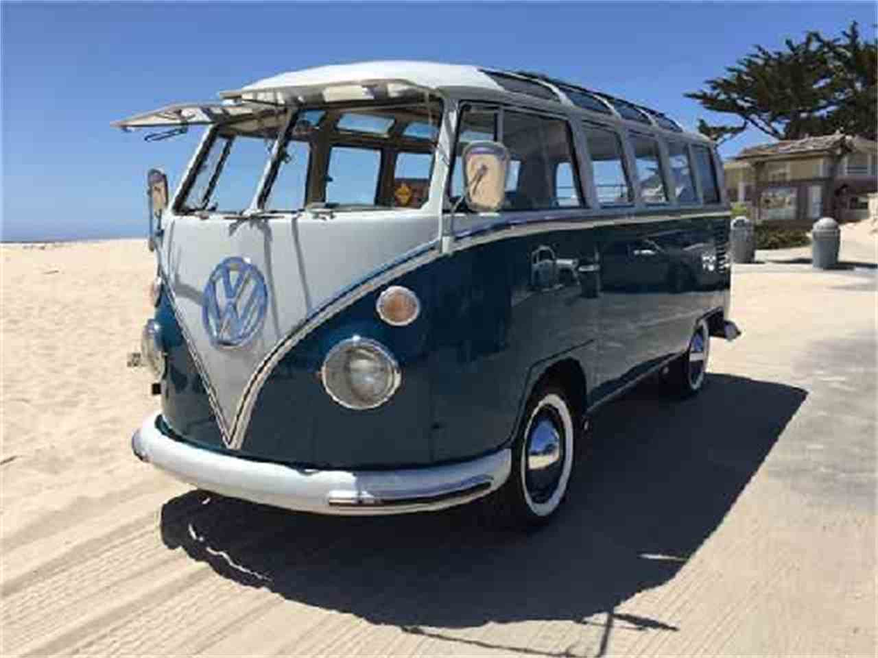 1966 volkswagen bus for sale cc 985039. Black Bedroom Furniture Sets. Home Design Ideas