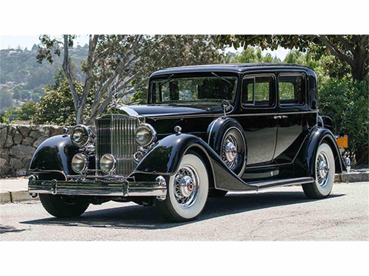 1934 packard twelve for sale cc 985060. Black Bedroom Furniture Sets. Home Design Ideas