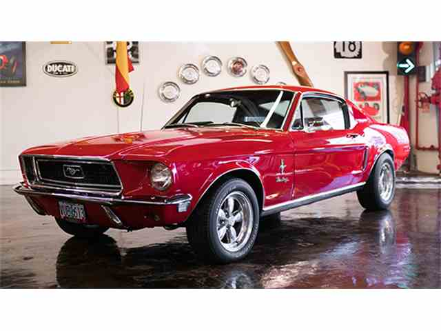 1968 Ford Mustang   985065
