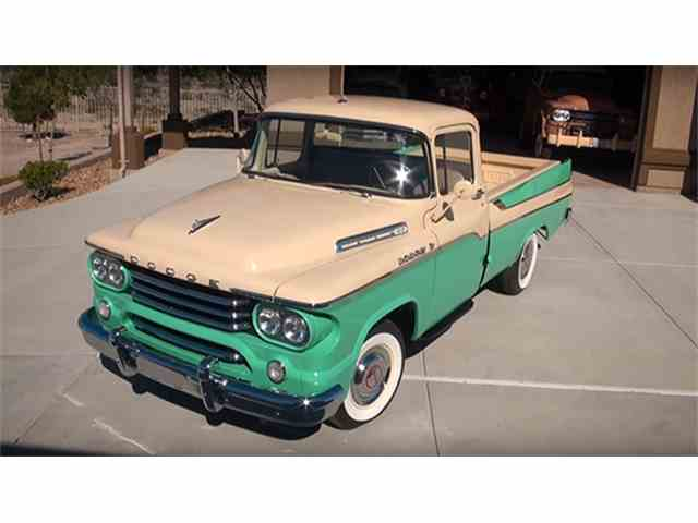 1958 Dodge D100 Sweptside Pickup | 985075
