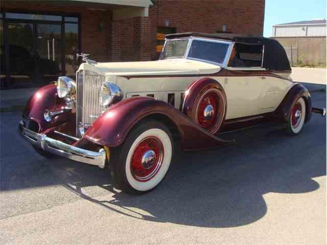 1934 Packard Custom Boattail Speedster | 985096