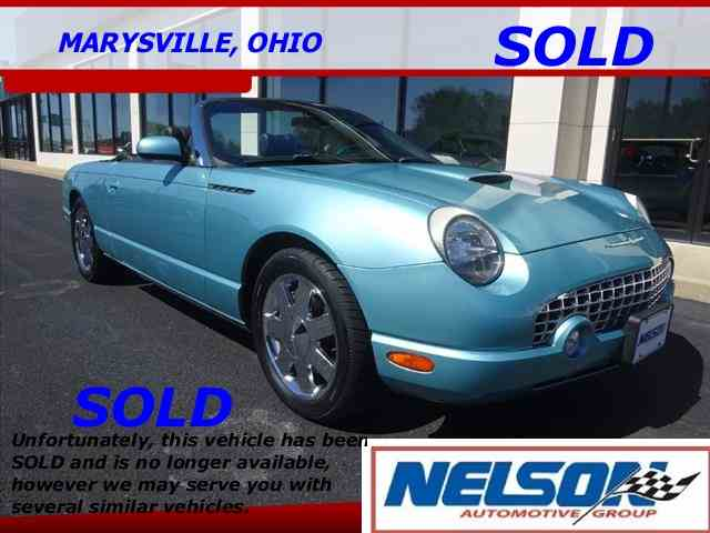 2002 Ford Thunderbird | 985174