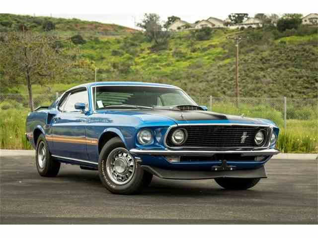1969 Ford Mustang Mach 1 | 985194