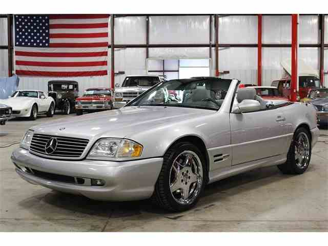 2000 Mercedes-Benz SL500 | 985231