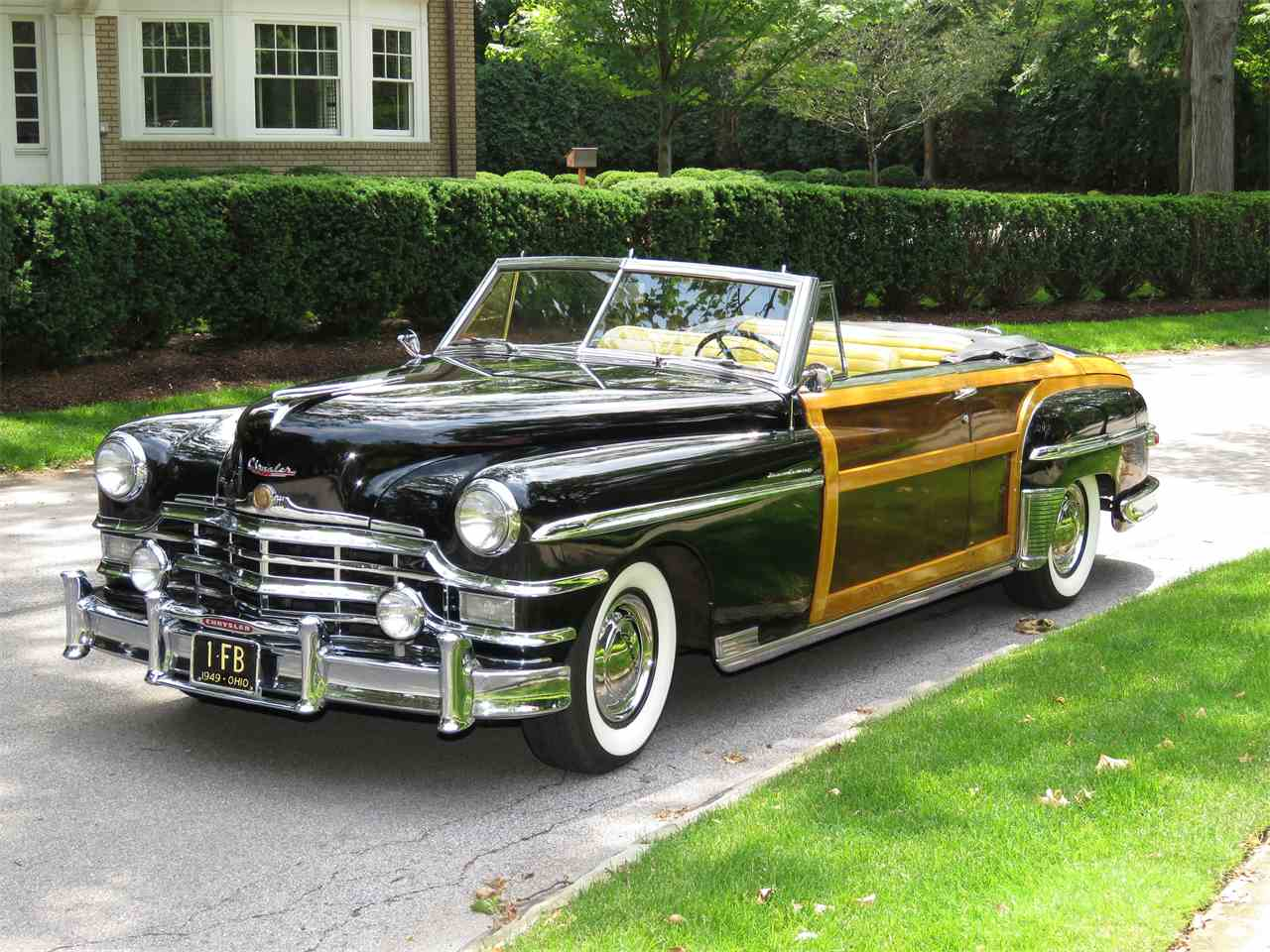 1949 Chrysler Town & Country Convertible for Sale | ClassicCars ...