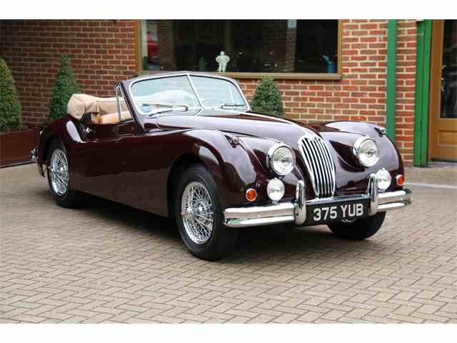 1955 Jaguar XK140 MC LHD 3.4 Drophead Coupe | 980556