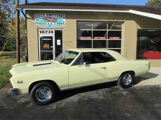 1967 Chevrolet Chevelle SS 396 - 138 VIN - Factory AC | 985580