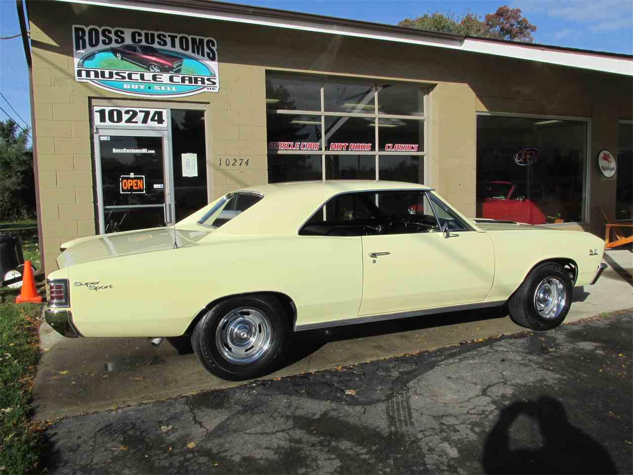 1967 Chevrolet Chevelle SS 396 - 138 VIN - Factory AC for Sale ...
