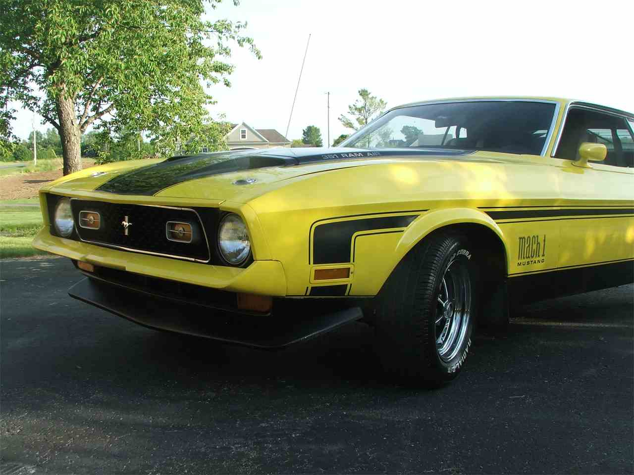 1971 ford mustang mach 1 for sale cc 980564. Black Bedroom Furniture Sets. Home Design Ideas