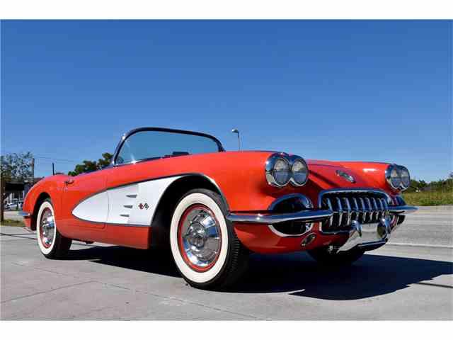 1958 Chevrolet Corvette   986128