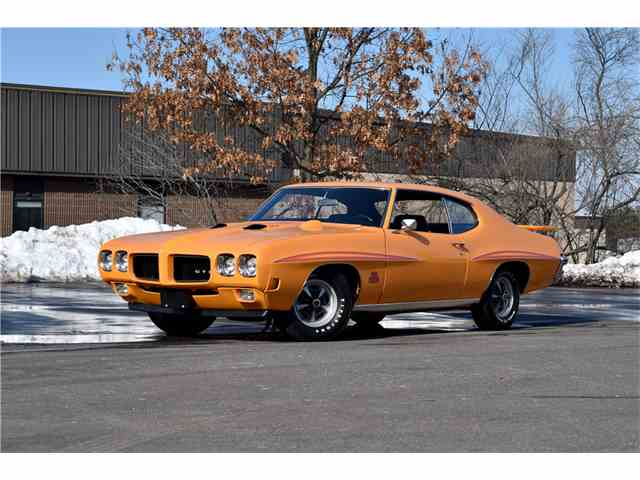1970 PONTIAC GTO JUDGE RAM AIR III | 986191
