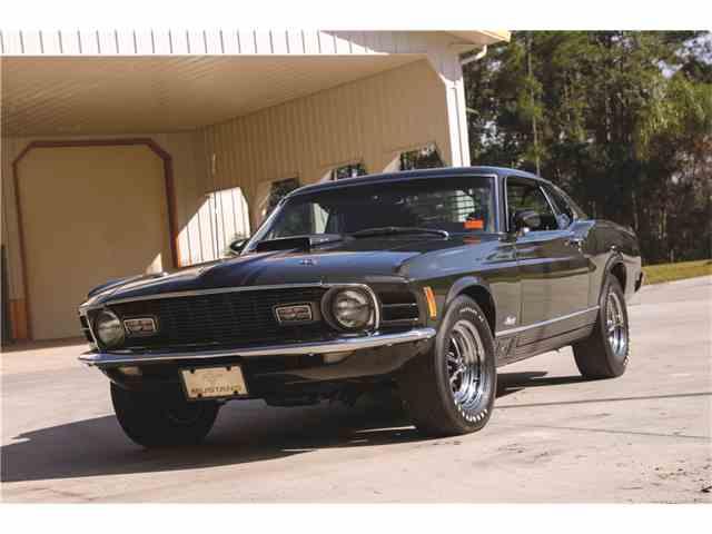 1970 FORD MUSTANG MACH 1 428 CJ | 986206