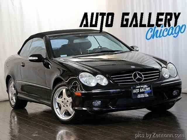 2004 Mercedes-Benz CLK500   986247