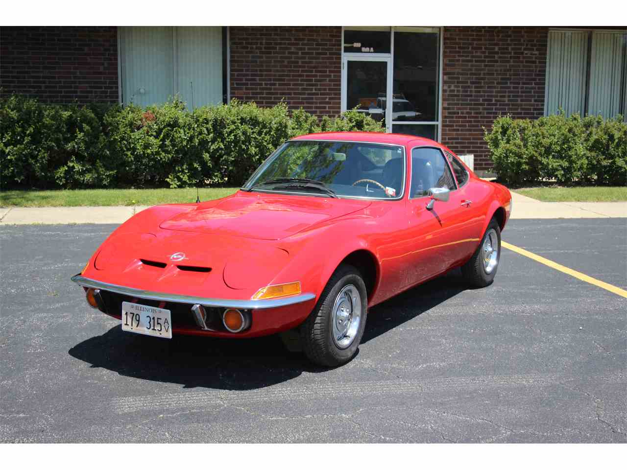 Large Picture of Classic '71 Opel GT - $10,900.00 Offered by Midwest Muscle Cars - L52A