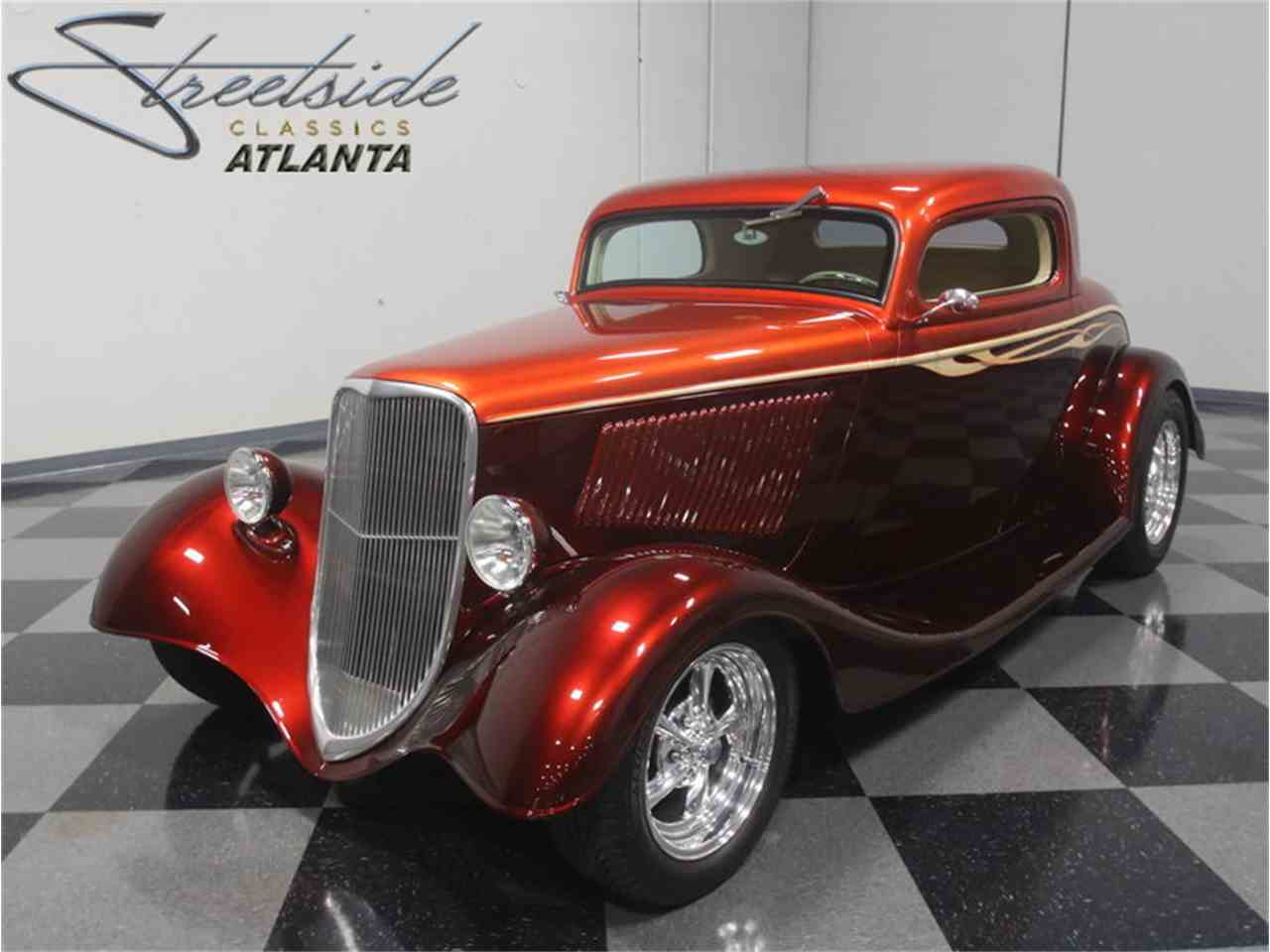 1934 ford coupe for sale cc 986396. Black Bedroom Furniture Sets. Home Design Ideas