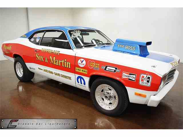 1975 PLYMOUTH DUSTER SOX AND MARTIN TRIBUTE | 980640