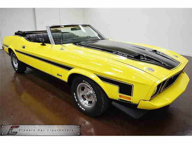 1973 FORD MUSTANG CONVERTIBLE CONVETIBLE | 980652