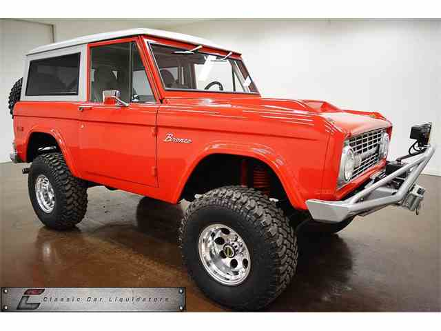 1971 FORD BRONCO 4X4 CUSTOM CUSTOM | 980653