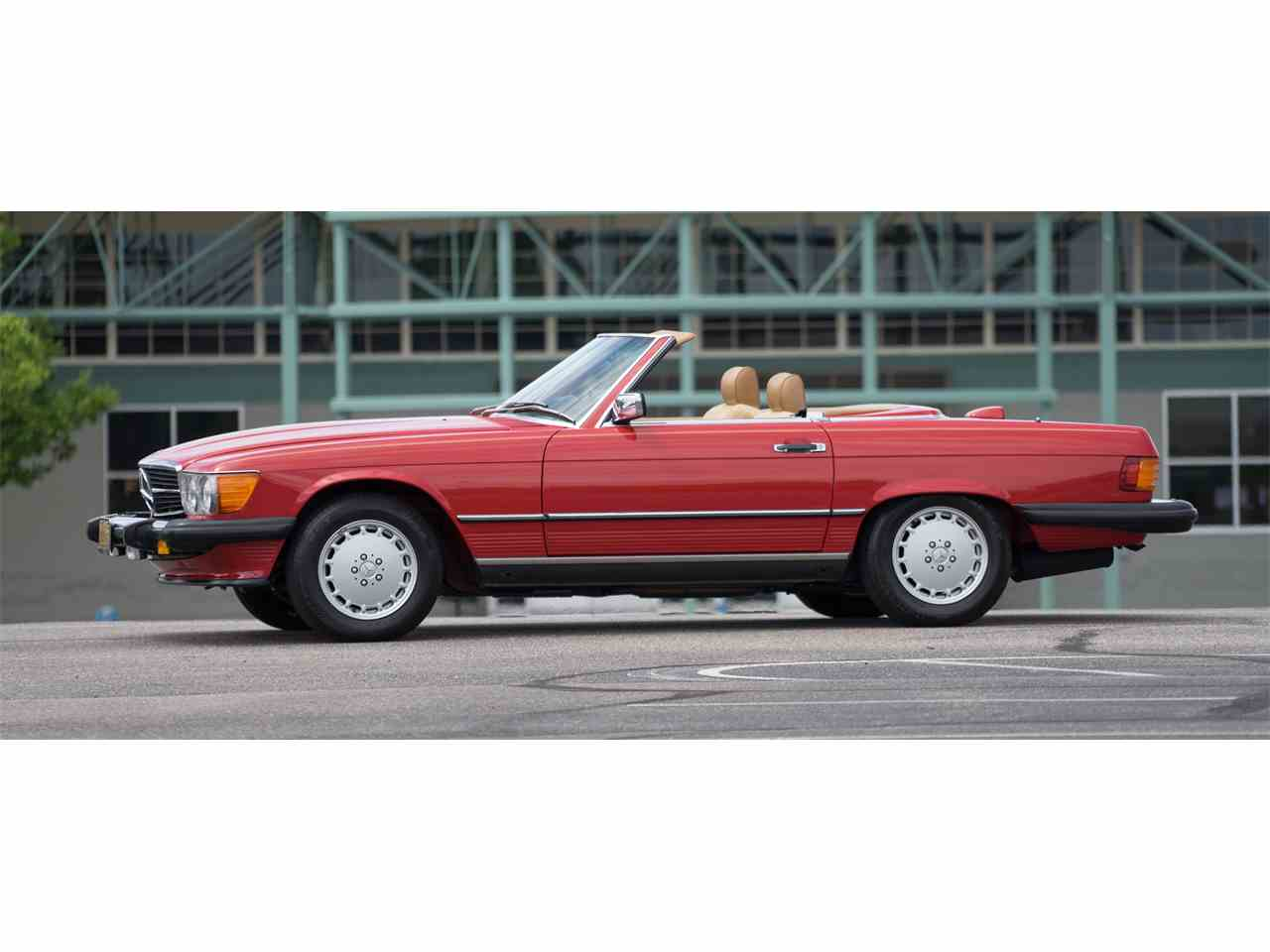 1986 mercedes benz 560sl 986530