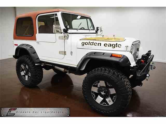 1979 JEEP CJ-7 GOLDEN EAGLE  GOLDEN EAGLE | 980658