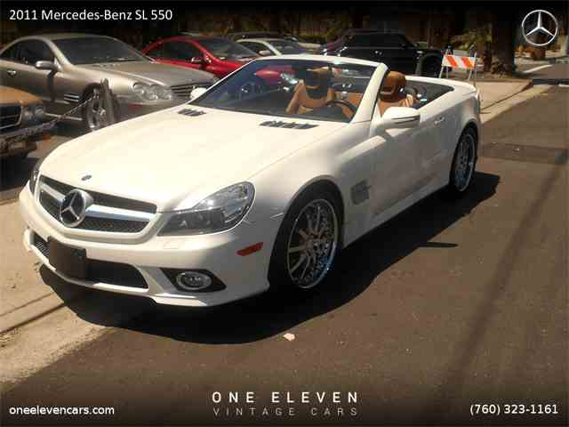 2011 Mercedes-Benz SL550 | 980659
