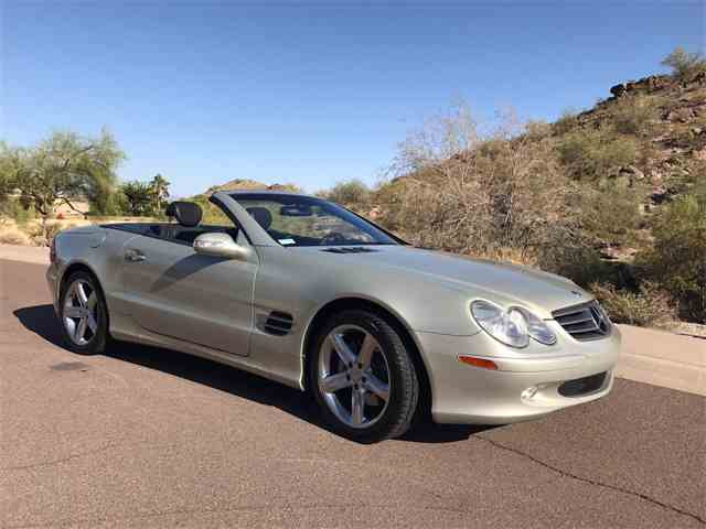 2003 Mercedes-Benz SL500 | 986610
