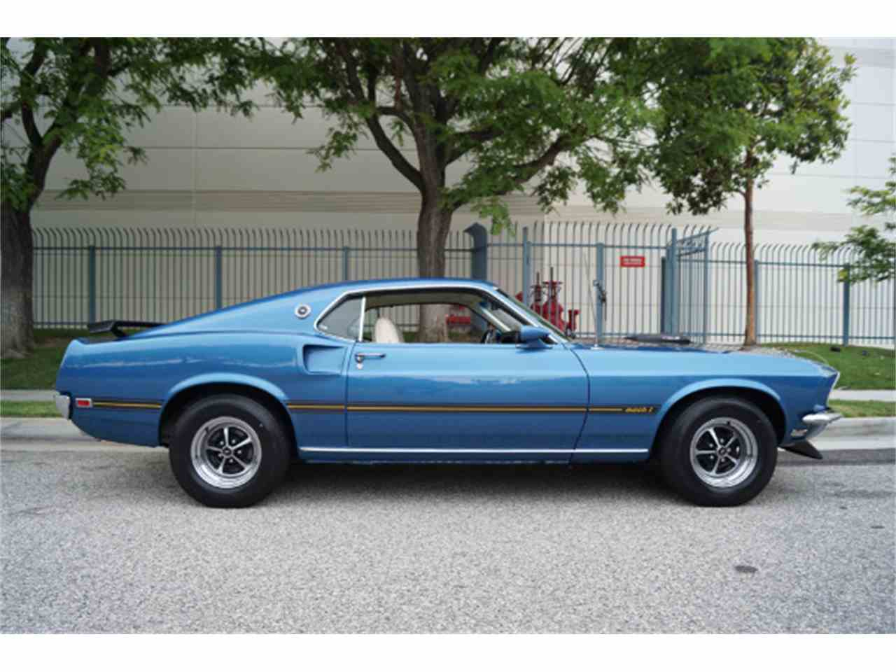 1969 ford mustang mach 1 for sale cc 986643. Black Bedroom Furniture Sets. Home Design Ideas