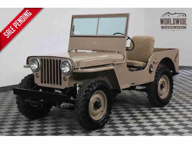 1946 Willys CJ2   986656