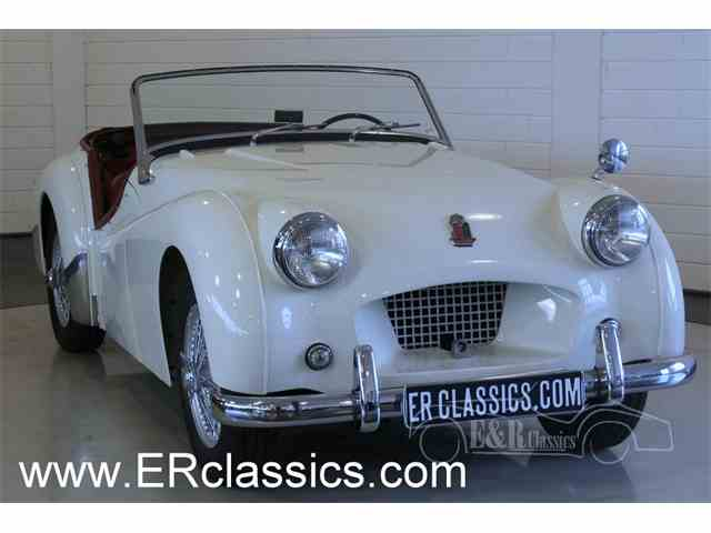 1954 Triumph TR2   986733