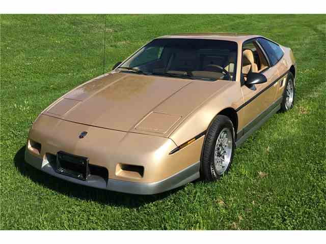 classic pontiac fiero for sale on 20. Black Bedroom Furniture Sets. Home Design Ideas