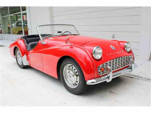 Picture of '58 TR3A located in GEORGIA Offered by Fraser Dante - L5EV