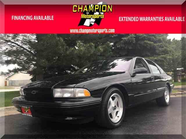 1996 Chevrolet Impala SS | 980709