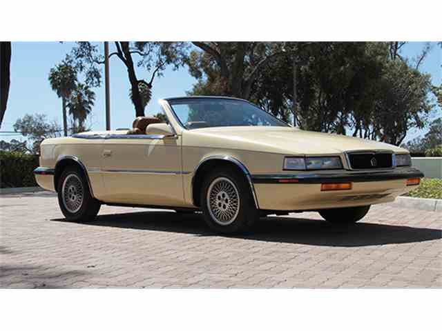 1989 Chrysler TC by Maserati | 987174