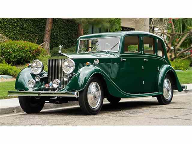 1937 Rolls-Royce 25/30 Saloon by Lancefield | 987183
