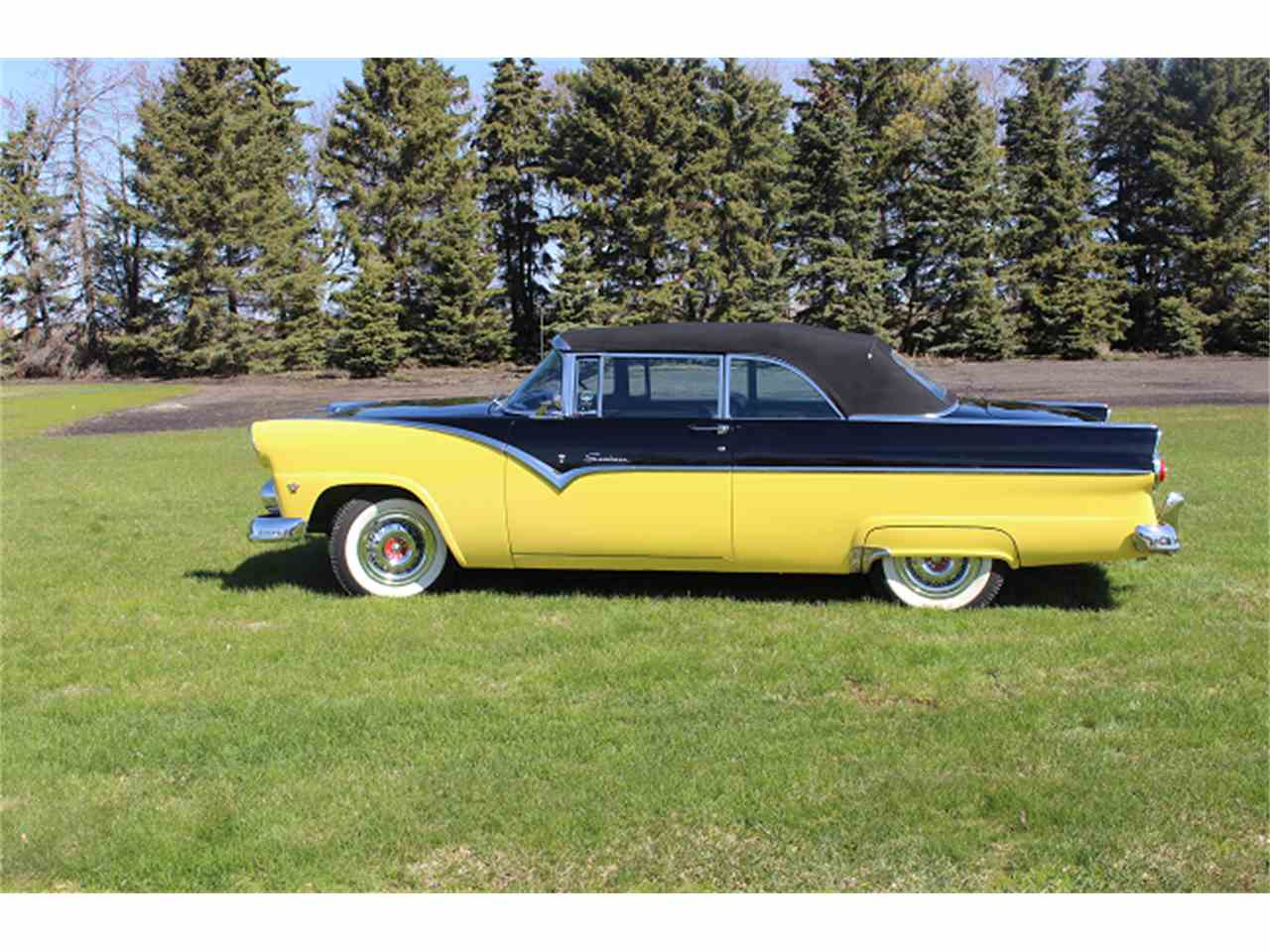 1955 ford fairlane crown victoria blog cars on line - 1955 Ford Fairlane Sunliner 980726