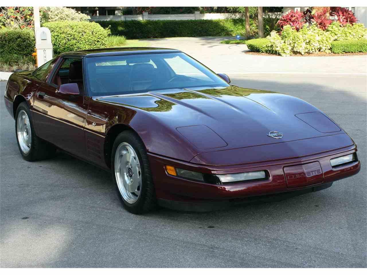 1993 chevrolet corvette for sale cc 987472. Black Bedroom Furniture Sets. Home Design Ideas