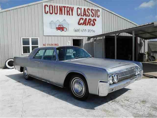 1963 Lincoln Continental | 987529
