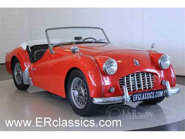 1957 Triumph TR3   987566