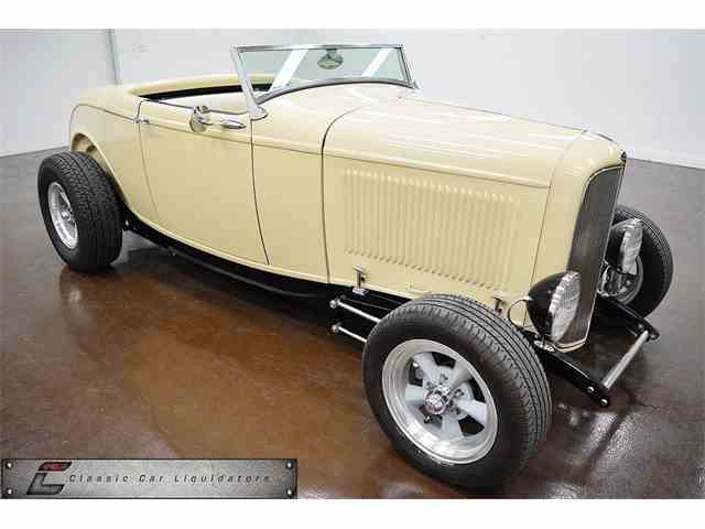 1932 FORD ROADSTER  HIGHBOY STEEL BODY | 987639