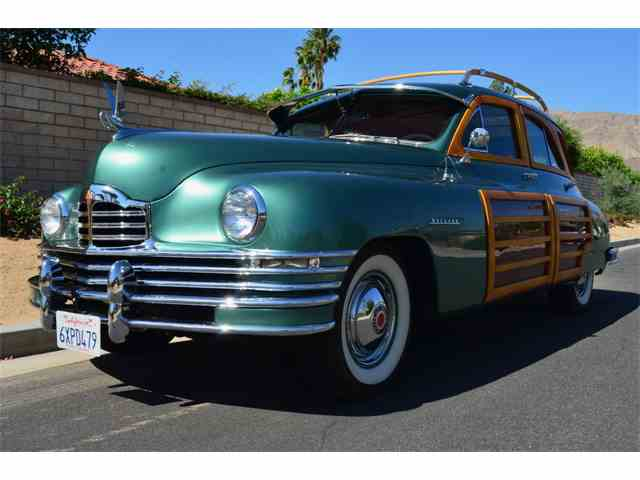 1948 Packard Super Eight Series 22 Woodie Station Sedan | 987759