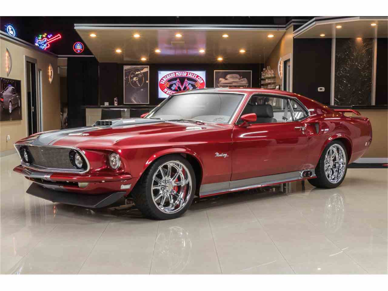 1969 ford mustang fastback restomod for sale cc 987992. Black Bedroom Furniture Sets. Home Design Ideas