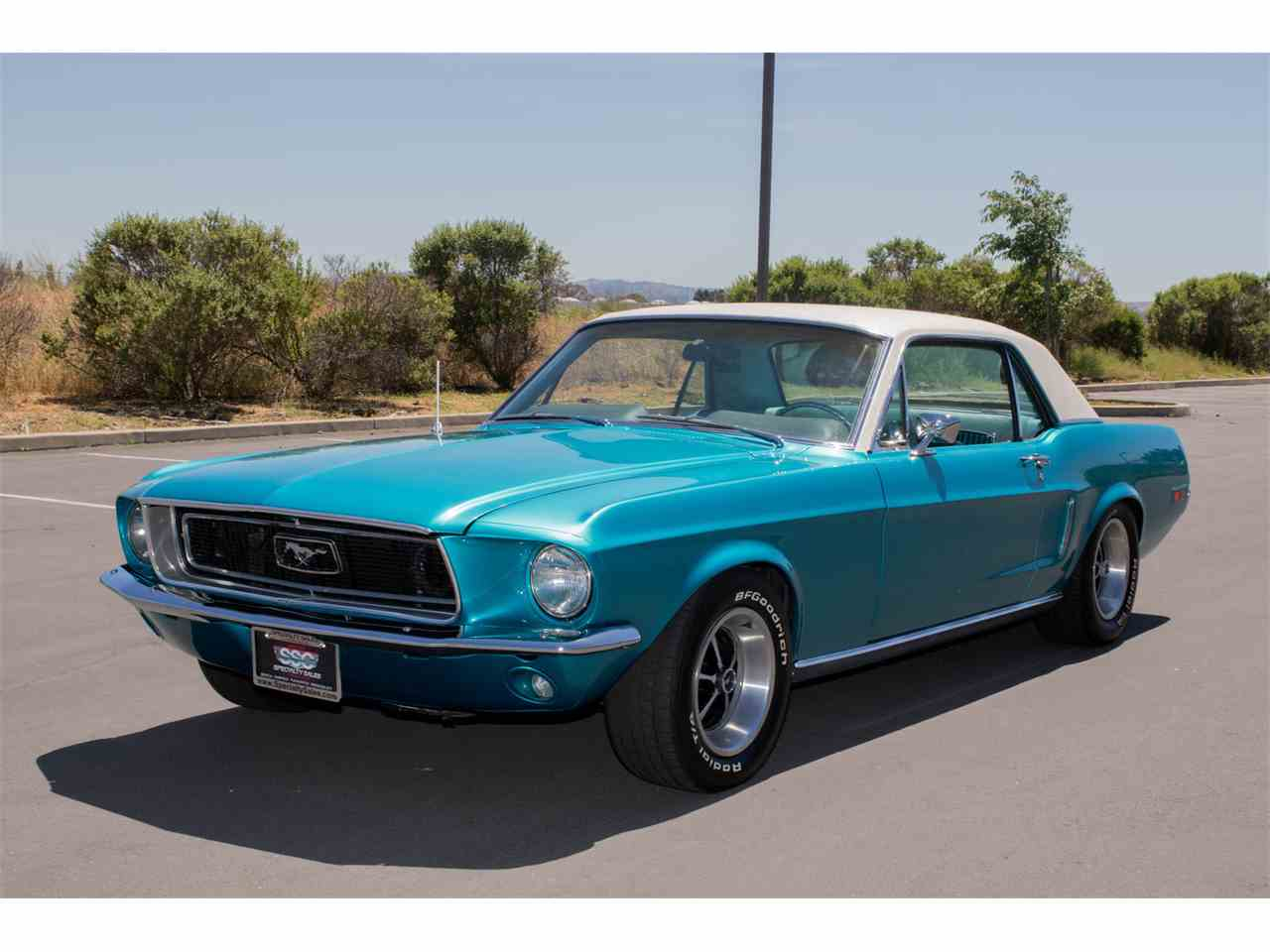 1968 ford mustang for sale cc 988019. Black Bedroom Furniture Sets. Home Design Ideas